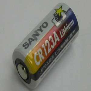 Genuine Pouwe-Sanyo-CR-123-A-lithium-Batteries