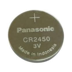 Panasonic CR2450 Lithium Coin Cell Batteries