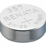 Renata 357 Battery