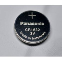 Panasonic CR1632 Button Cell Batteries