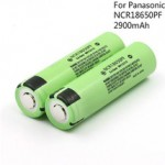 Panasonic NCR18650PF 2900mAh Lithium Rechargeable Battery