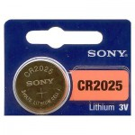 Sony cr2025 Lithium Battery