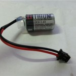 Toshiba ER 3V 3.6V Battery with black connector